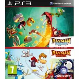 Pack Rayman Origins + Rayman Legends PS3