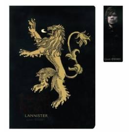 Bloco de Notas Game of Thrones Lannister Gift Set