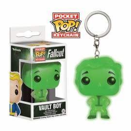 Porta-Chaves Pocket Pop! Fallout Vault Boy Green