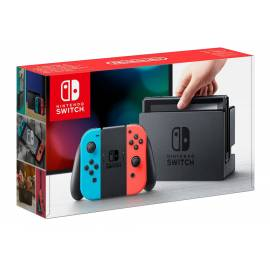 Consola Nintendo Switch Azul Néon/Vermelho Néon
