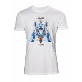T-Shirt Horizon Zero Dawn Dinosaur Mech Tamanho L