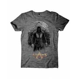 T-Shirt Assassin's Creed Movie Cinzenta Aguilar Tamanho L