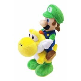 Peluche Luigi e Yoshi - Super Mario Bros. 20 cm