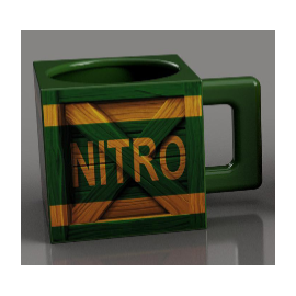 Caneca Crash Bandicoot Nitro Crate
