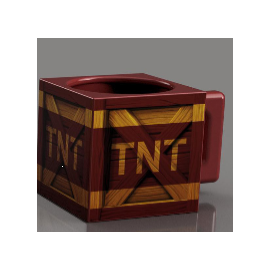 Caneca Crash Bandicoot TNT Crate