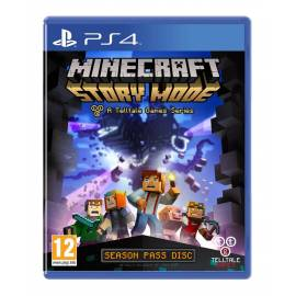 Minecraft Story Mode (Em Português) (Seminovo) PS4