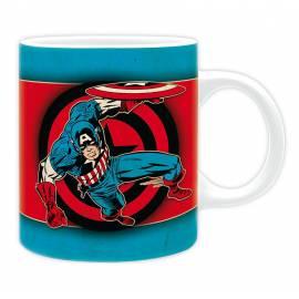 Caneca Captain American Vintage Marvel