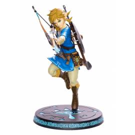 Estátua The Legend Of Zelda Breath Of The Wild - Link With Bow 25 cm