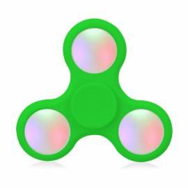 Fidget Spinner Verde com LED