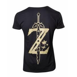 T-shirt Nintendo Zelda Breath of the Wild Tamanho XL