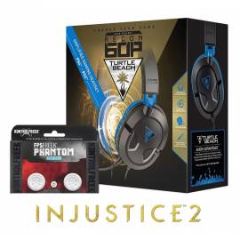 Pack Turtle Beach Ear Force 60P PS4 / PS3 OFERTA Injustice 2 PS4 + KontrolFreek FPS Phantom