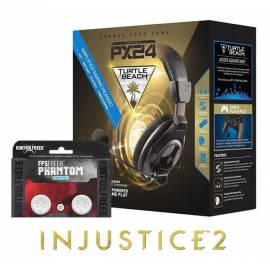 Pack Turtle Beach Ear Force PX24 PS4 / Xbox One / PC OFERTA Injustice 2 PS4 + KontrolFreek FPS Phantom