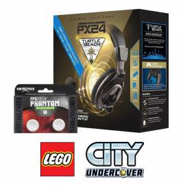 Pack Turtle Beach Ear Force PX24 PS4 / Xbox One / PC OFERTA LEGO City Undercover Xbox One + KontrolFreek FPS Phantom