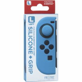 Capa de Silicone + Grips (Azul) joy-con esquerdo Switch