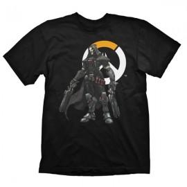 T-shirt Overwatch Reaper Logo Tamanho L