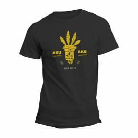 T-shirt Crash Bandicoot Aku Aku Tamanho S