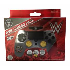 Combo Pack WWE ( Capa + Grips + Autocolante) PS4
