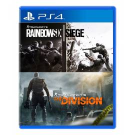 Pack Rainbow Six + The Division PS4