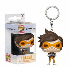 POCKET POP! Porta-Chaves: Overwatch Tracer