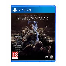 Middle-Earth: Shadow of War PS4 - OFERTA DLC e T-Shirt Oficial