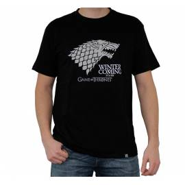 T-shirt Game Of Thrones Winter Is Coming Tamanho M