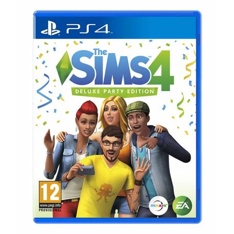 The Sims 4 - Deluxe Party Edition PS4 - OFERTA DLC
