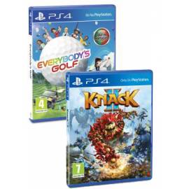 Pack Knack 2 PS4 + Everybody's Golf PS4