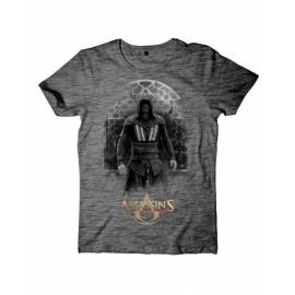 T-Shirt Assassin's Creed Movie Cinzenta Aguilar Tamanho S