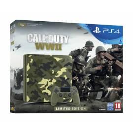 Consola PS4 Slim 1TB Edição Limitada Call of Duty WWII