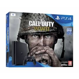 Consola PS4 Slim 1TB + Jogo Call of Duty WWII