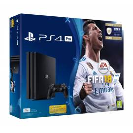 Consola PS4 Pro 1TB + Jogo FIFA 18 + 14 Dias Subscrição PS Plus