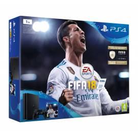 Consola PS4 Slim 1TB + Jogo FIFA 18 + 14 Dias Subscrição PS Plus