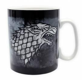 Caneca Porcelana Game of Thrones Stark