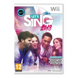 Let's Sing 2018 + 2 Microfones WII