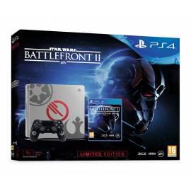 Consola PS4 Slim 1TB Edição Especial Star Wars + Jogo Star Wars Battlefront II Deluxe Edition
