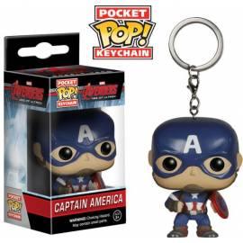 POCKET POP! Porta-Chaves: Avengers - Age Of Ultron: Capitão America