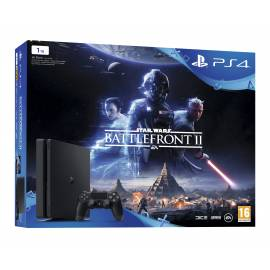 Consola PS4 Slim 1TB + Jogo Star Wars Battlefront II