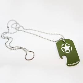 Dog Tag Abre-garrafas Call of Duty WWII