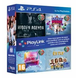 Pack Playlink - Hidden Agenda + Singstar Celebration + Saber é Poder + És Tu! PS4