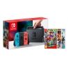 Pack Consola Nintendo Switch Azul Néon/Vermelho Néon + Jogo à Escolha