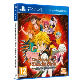 The Seven Deadly Sins: Knights of Britannia PS4 - Oferta DLC