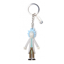 Porta-Chaves Rick and Morty Rick 3D