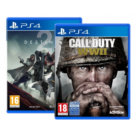 Pack Call of Duty WWII PS4 + Destiny 2 PS4