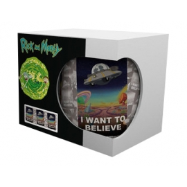 Caneca Rick And Morty - I Want To Believe