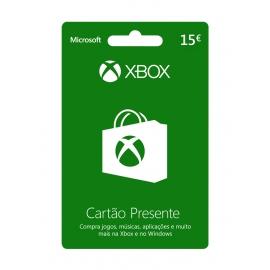 Cartão Presente Xbox 15 Euros (Digital) - (Envio por Email)