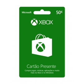Cartão Presente Xbox 50 Euros (Digital) - (Envio por Email)