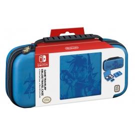 Bolsa de Transporte Oficial Azul Zelda Nintendo Switch BigBen