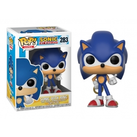 POP! Vinyl Games: Sonic The Hedgehog Sonic With Ring 283