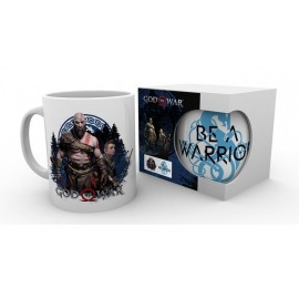 Caneca God of War - Be a Warrior