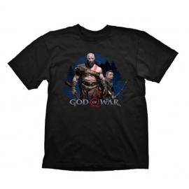 T-shirt God of War Kratos & Atreus Tamanho L